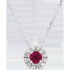 Collier Clévia - rubis