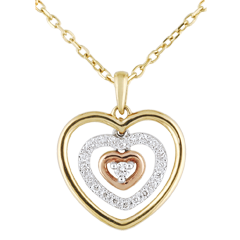 Collier Coeur Orma 3 ors - 0.1 carat