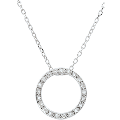 Collier Elisée - 21 Diamanten