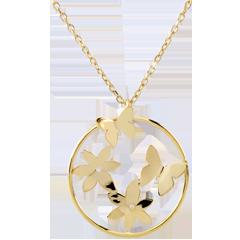 Collier Envolée légère - or jaune 9 carats