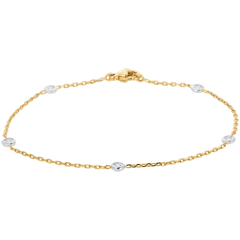 Constellation Bracelet - Gold - Diamonds