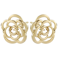 Couture Flower Stud Earrings