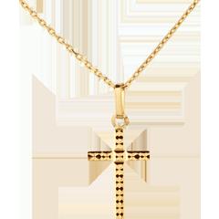 Croix facettée