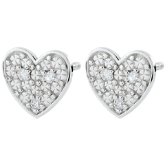 Dita Heart Earrings