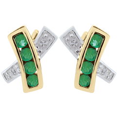 Donia Emerald-Earrings