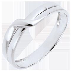 Eden Passion Wedding Ring - White gold