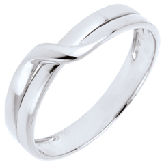 Eden Passion Wedding Ring - White gold