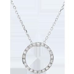 Elisée Necklace with21 diamonds
