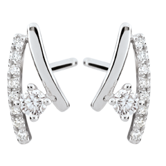 Erina Diamond Earrings - 18 carats