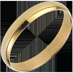 Fede nuziale Pure - Oro giallo - 18 carati