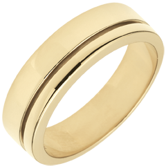 Fede Olympia - modello grande - Oro giallo - 18 carati