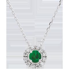 Halsketting Clevia – Smaragd