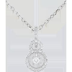 Hanger 9 karaat witgoud Scarlet - 31 Diamant
