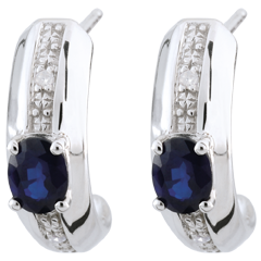 Jalouse Sapphire Earrings