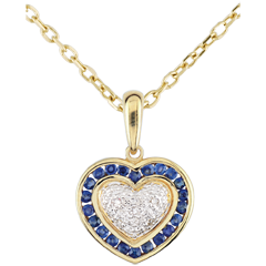 Marquise Heart Pendant
