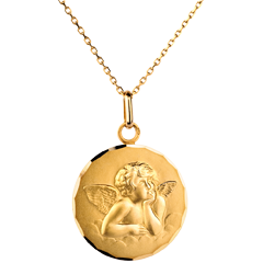 Médaille Ange Raphaël classique 20mm
