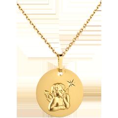 Médaille Ange Raphaël à l'étoile 16mm