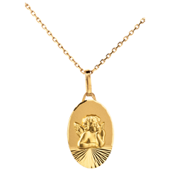 Medaille Engel Raphael modern