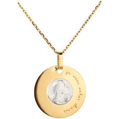 Medaille Maagd 18 mm