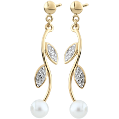 Mother-of-pearl Summer Pearl Earrings