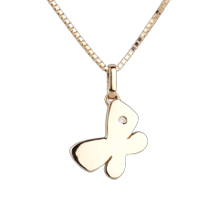 My little butterfly - large model - yellow gold