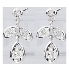 Ohrstecker Hesmé - 10 Diamanten