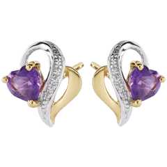 Ouaki Amethyst Earrings
