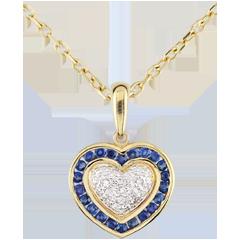 Pendentif Coeur Marquise