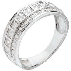 Ring Betovering - Galaxie - 0,28 karaat - 33 diamanten