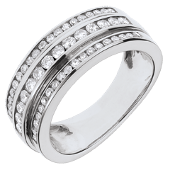 Ring Betovering - Melkweg - 0,63 karaat - 52 diamanten
