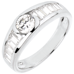 Ring Destiny - Solitaire Aphrodite - 0.46 carat diamond