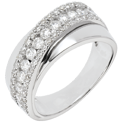 Ring Destiny - Victoria - 18 karaat witgoud