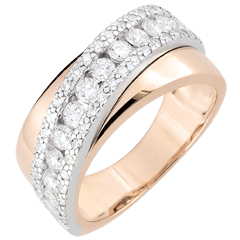 Ring Destiny - Victoria - Rose Gold - 18 carat