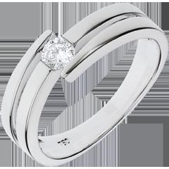 Ring Liefdesnest - Salome - 18 karaat witgoud