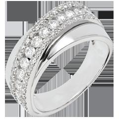 Ring Lotsbestemming - Victoria - wit goud