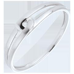 Ring Modernity 18 karaat witgoud