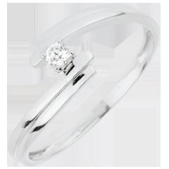Ring Nid Précieux - Liefde voor altijd - Wit Goud - 18 karaat