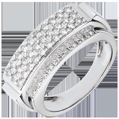 Ring Paula - 18 karaat witgoud