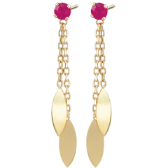 Sakari Ruby Earrings