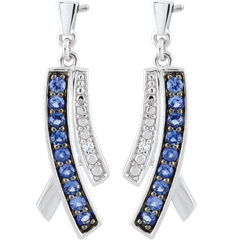 Sapphire Blina Earrings