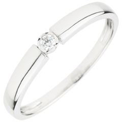 Solitaire Ring Diamond Pill