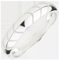 Wedding Ring Energy - White gold