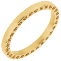 Wedding Ring In my Heart - Yellow gold