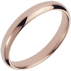 Wedding Ring Pink gold - 18 carat