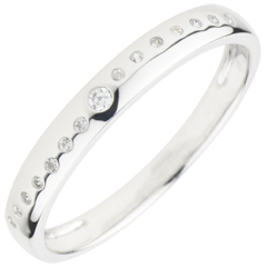 Wedding Wedding Ring with Diamonds Nuptial
