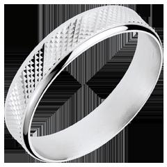 White Gold Loft Ring