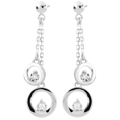 White Gold Odalie Earrings
