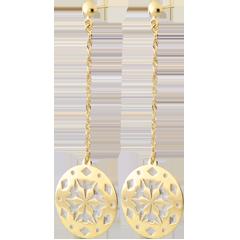 Yellow Gold Makwa Earrings