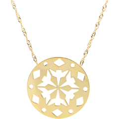 Yellow Gold Makwa Necklace