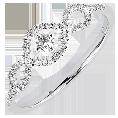 bague diamant 9 carats